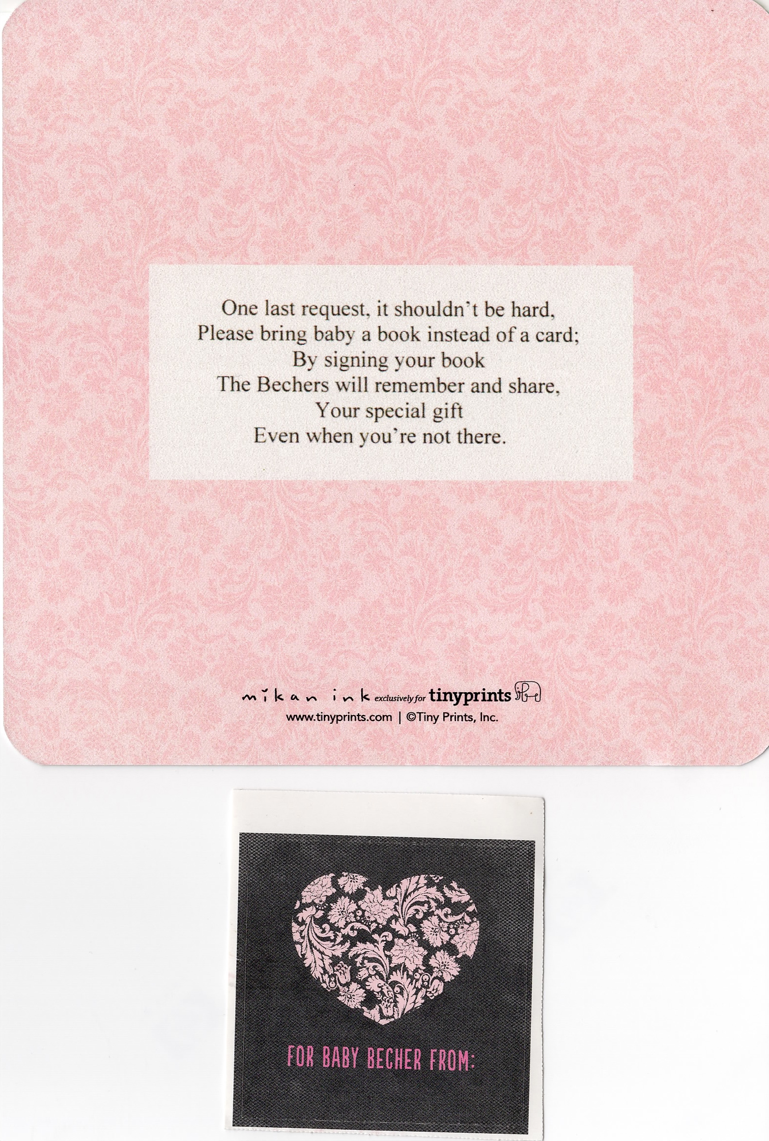 Thank You Gift For Mom Throwing Baby Shower - Gift Ideas